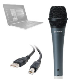 Carol E DUR-916SU – USB Microphone for Computers