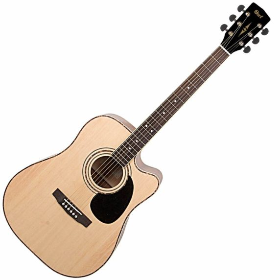 Cort AD880CE NS acoustic electric guitar
