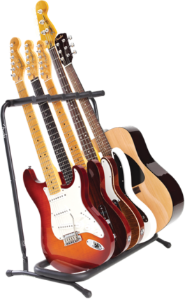Fender MULTI STAND 5 FOR GUITARS AND BASS GUITARS