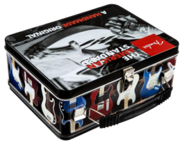 Fender American Standard Lunchbox Tin