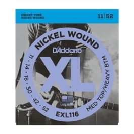 D'Addario EXL116 NICKLE WOUND ELECTRIC GUITAR STRINGS