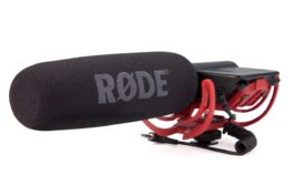 Rode VideoMic – with Rycote Suspension