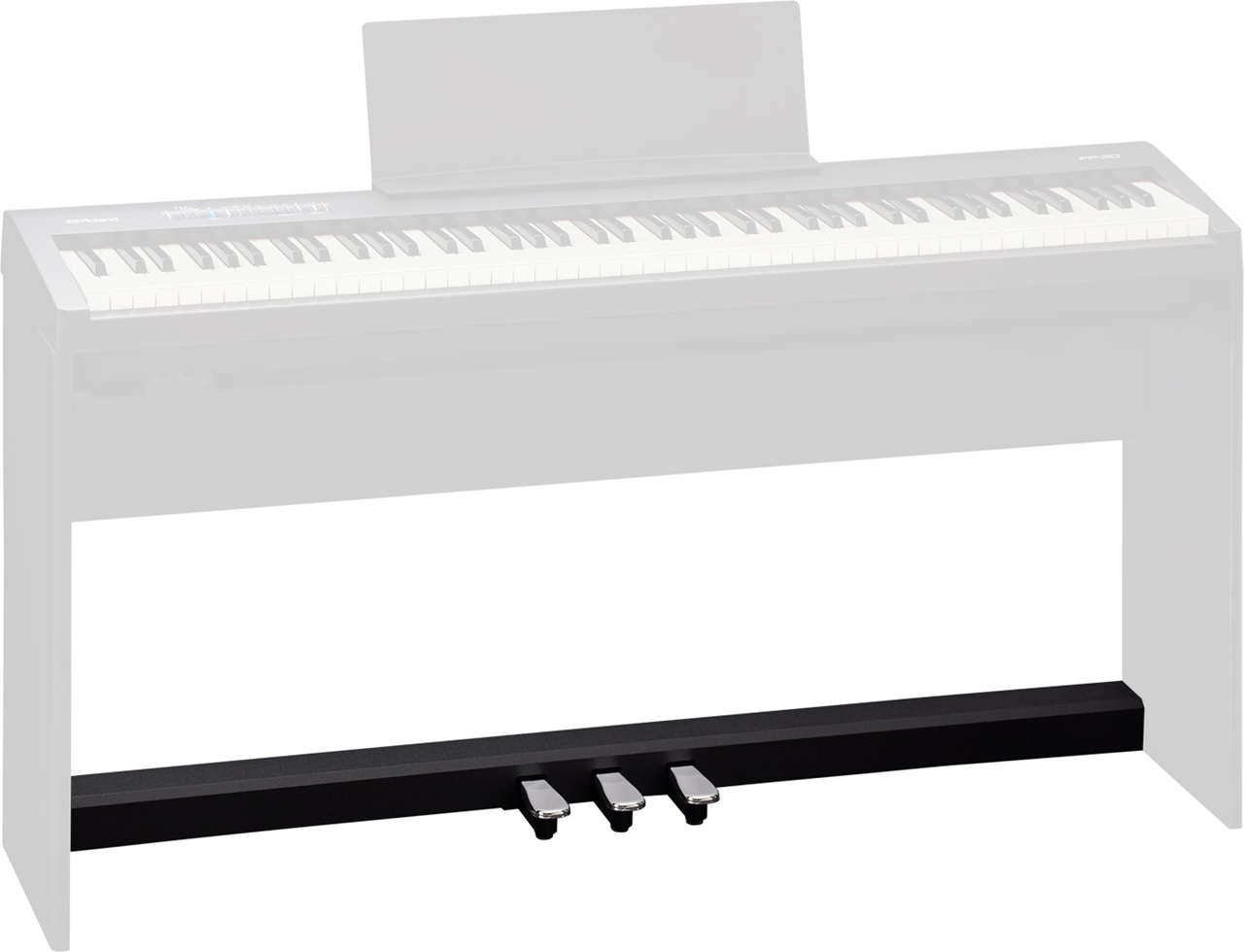 Roland Kpd 70 Black Pedal Unit For Fp 30 Digital Piano Paul Bothner Music Musical Instrument Stores