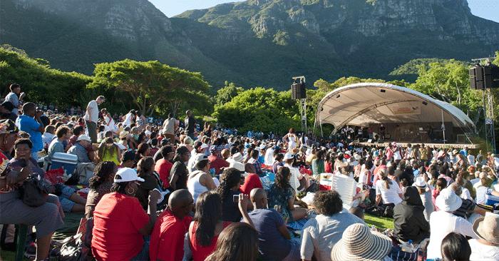 The Kirstenbosch Gardens Summer Concerts 2018