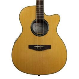 Caraya F-550BCEQN Acoustic-Electric Guitar Natural Finish