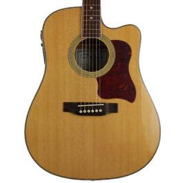 Caraya F640CE Acoustic-Electric Guitar Natural Finish