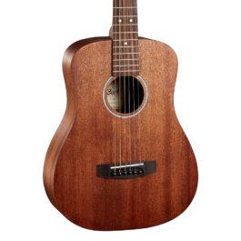 Cort AD MINI M Travelers Guitar – Natural Satin Mahogany