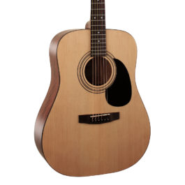 Cort AD810 OP Dreadnaught Acoustic Guitar – Natural