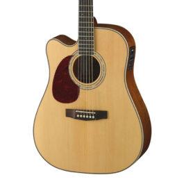 Cort MR710F Left-Handed Acoustic-Electric Guitar – Natural