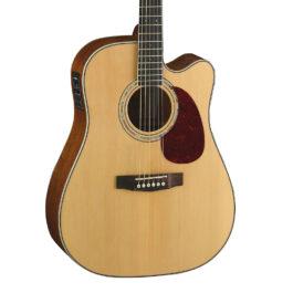 Cort MR710F Acoustic-Electric Guitar – Natural