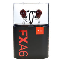 Fender FXA6 Pro In-Ear Monitors – Red