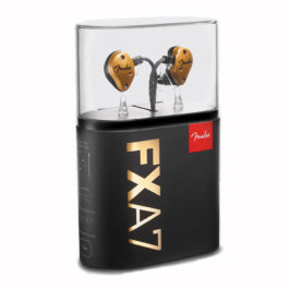 Fender FXA7 Pro In-Ear Monitors – Gold