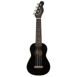 Fender Venice Soprano Ukulele – Black
