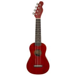 Fender Venice Soprano Ukulele – Cherry