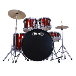 Mapex PRODIGY 5-PIECE RED ROCK DRUM KIT