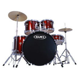 Mapex PRODIGY 5PC RED FUSION SIZES DRUMKIT