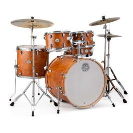 Mapex STORM SERIES 5-PIECE ROCK DRUM KIT – Incl. Hardware – Camphor Wood Grain