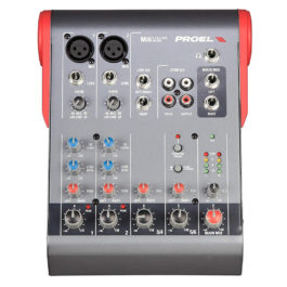 Proel Mi6 Ultra-compact 6-channel 2-bus mixer