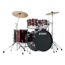 Tama STAGESTAR 5 PIECE DRUM KIT Charcoal Silver