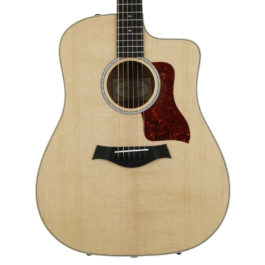 Taylor 210ce Deluxe Acoustic-Electric Guitar – Natural