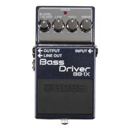 Boss BB-1X BASS DRIVER EFFECTS PEDAL (with DI)