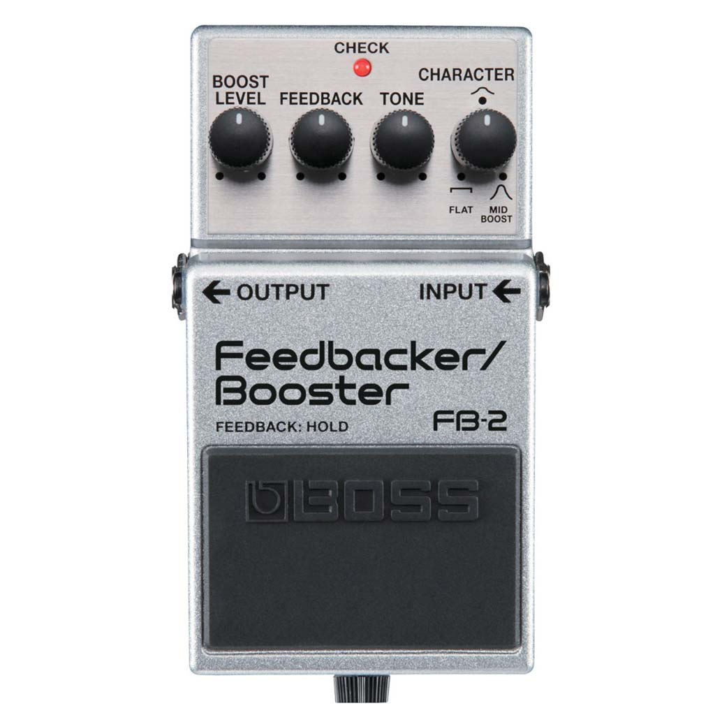 Boss FB-2 FEEDBACKER/BOOSTER EFFECTS PEDAL