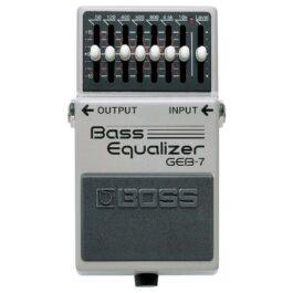 Boss GEB-7 BASS EQ EFFECTS PEDAL