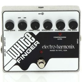 Electro-Harmonix WHITE FINGER Analogue Compressor Pedal