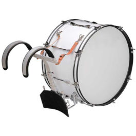 BERGEN 24″ MARCHING BASS DRUM WITH CARRIER & MALLET