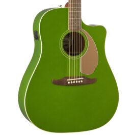 Fender Redondo Player Acoustic-Electric Guitar – Jade