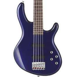 CORT ACTION BASS V PLUS METALLIC BLUE 5-STRING ACTIVE ELECTRIC BASS GUITAR