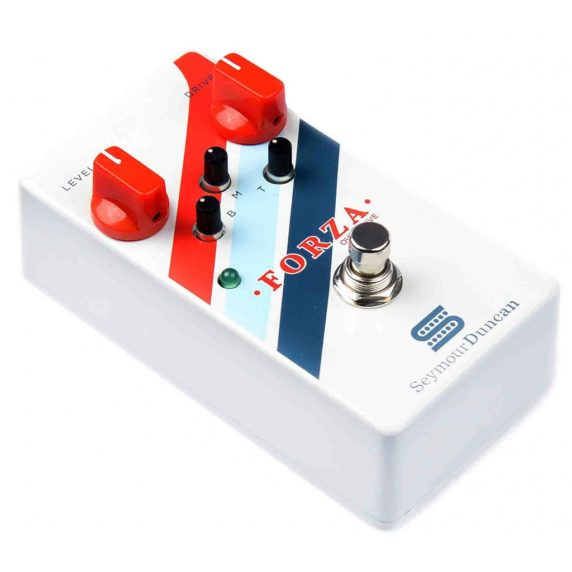 SEYMOUR DUNCAN FROZA OVERDRIVE PEDAL back