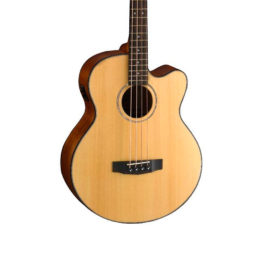 Cort AB850F Acoustic 4-String Bass Guitar – Natural