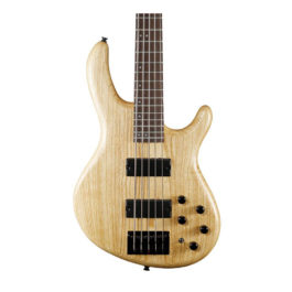Cort Action Bass DLX AS w/ Markbass EQ – Open Pore Natural
