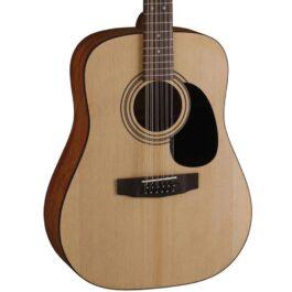 Cort AD810-12E 12-String Acoustic-Electric Guitar – Open Pore Finish