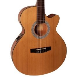 Cort CEC1 OP ELECTRIC CLASSIC WITH CUTAWAY – OPEN PORE NATURAL FINISH