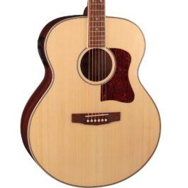 Cort CJ-MEDX Jumbo Acoustic-Electric Guitar – Natural
