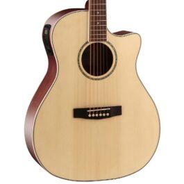 Cort GA-MEDX Acoustic-Electric Guitar – Natural