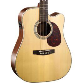 Cort MR600F Acoustic-Electric Guitar – Natural Satin