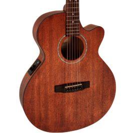 Cort SFX-MEM Acoustic-Electric Guitar – Natural Mahogany