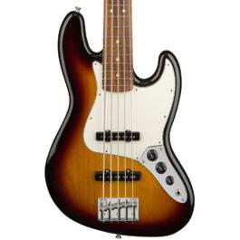 Fender Player Series Jazz Bass® V – Pau Ferro Fretboard – 3-Tone Sunburst Finish