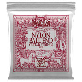 Ernie Ball Ernesto Palla Nylon Guitar Strings with Bronze Bass Strings – Ball End