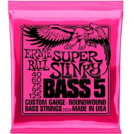 Ernie Ball STRINGS 5-STRING BASS SUPER SLINKY 40 – 125