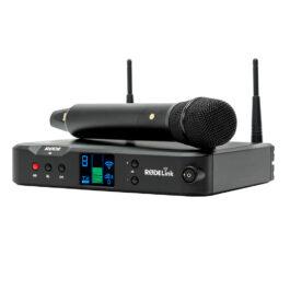 Rode RodeLink Performer Kit – Stage Condenser Microphone & TX-M2 Desktop Receiver