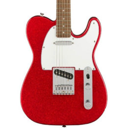 Squier LIMITED EDITION BULLET TELE ELECTRIC GUITAR Laurel Fretboard Sparkling Red
