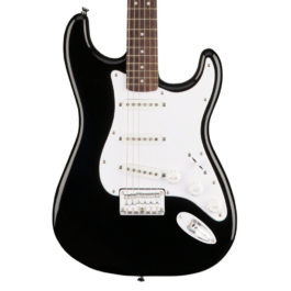Squier Bullet Stratocaster® Electric Guitar – Hardtail – Black