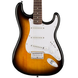 Squier Bullet Stratocaster® Electric Guitar – Hardtail – Brown Sunburst