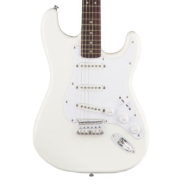Squier Bullet Stratocaster ® Electric Guitar – Hardtail – Arctic White