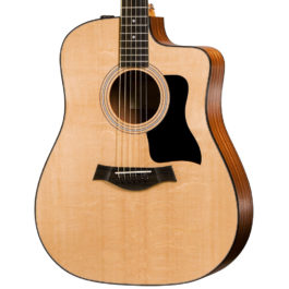 Taylor 110ce Acoustic-Electric Guitar – Natural w/ Sapele Back and Sides