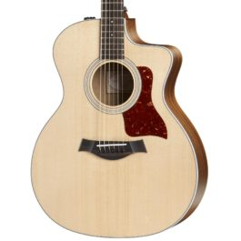 Taylor 214ce Acoustic-Electric Guitar – Natural w/ Rosewood Back and Sides